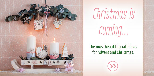 Christmas is coming ... The most beautiful craft ideas for Advent and Christmas!
