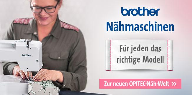 Brother Nähmaschinen - Für jeden das richtige Modell!