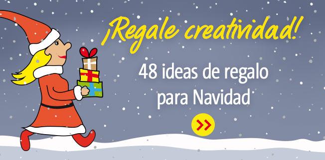 ¡Regale creatividad! 48 ideas de regalo para Navidad