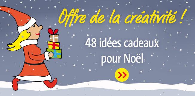 Offre de la créativité ! 48 idées cadeaux pour Noël