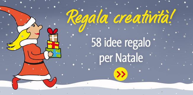 Regala creatività! 58 idee regalo per Natale