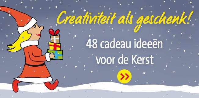 Creativiteit als geschenk! 48 cadeau ideeën voor de Kerst