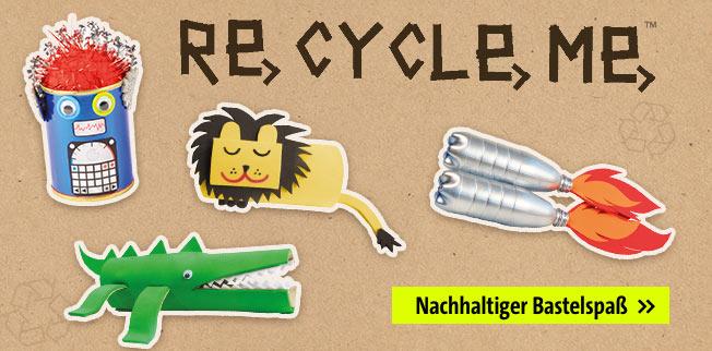 Recycle me - nachhaltiger Bastelspaß!