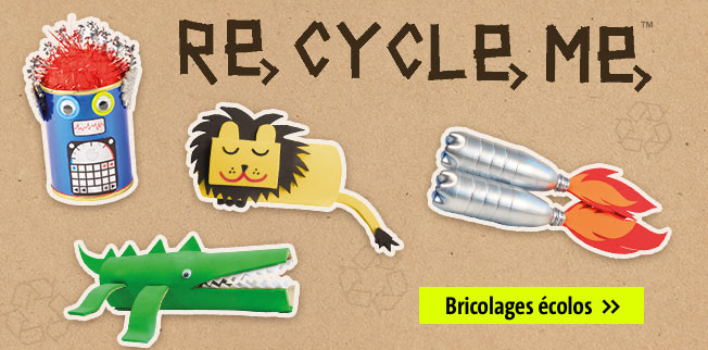 Recycle me - bricolages écolos