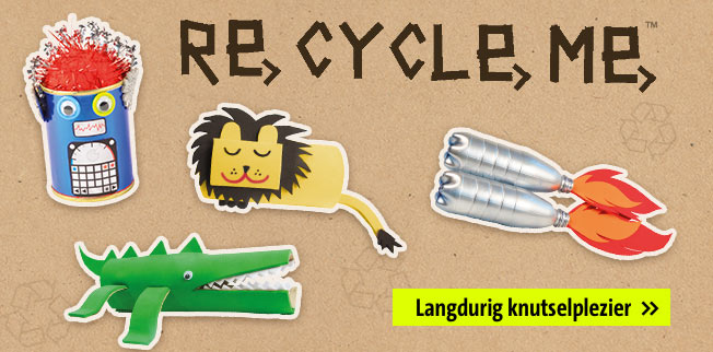 Recycle me - langdurig kutselpeziar