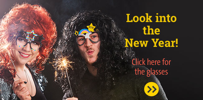 Look into the New Year! Click here for the glasses