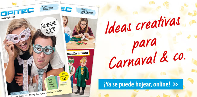 Ideas creativas para Carnaval & co.