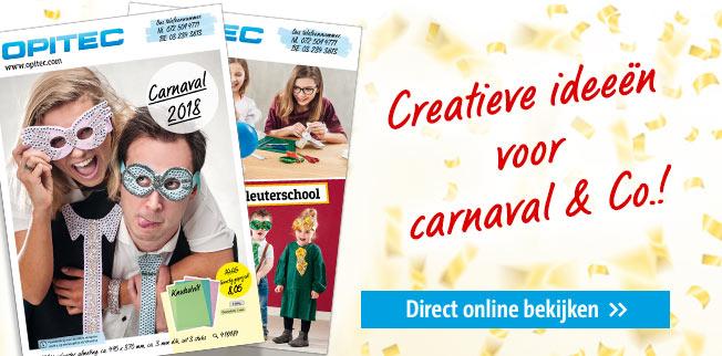 Creatieve ideeën voor carnaval & Co.!