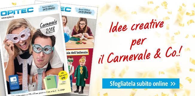 Idee creative per il Carnevale & Co.!