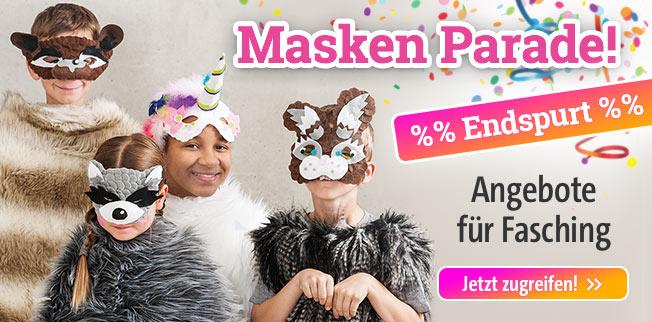 Masken-Parade! Originelle Ideen für Fasching
