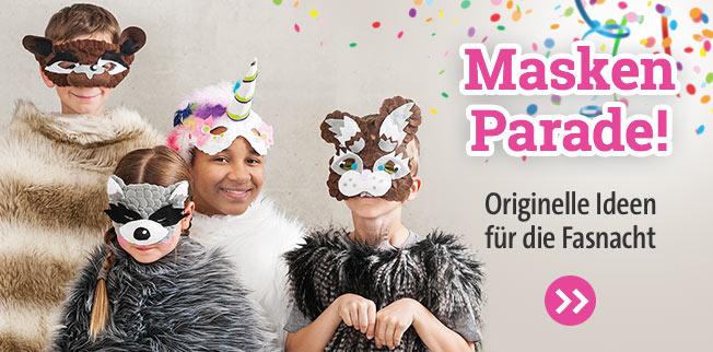 Masken-Parade! Originelle Ideen für Fasnacht