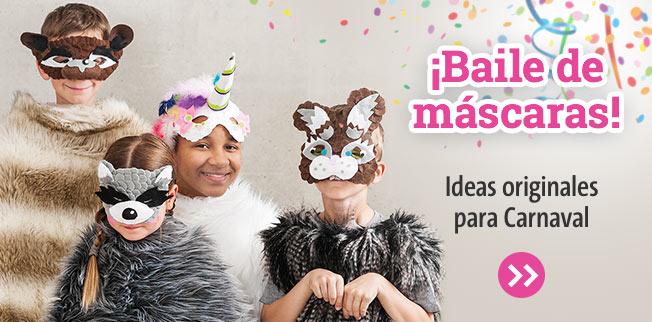 ¡Baile de máscaras! Ideas originales para Carnaval
