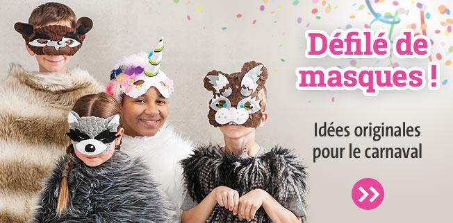 Défilé de masques ! Idées originales pour le carnaval