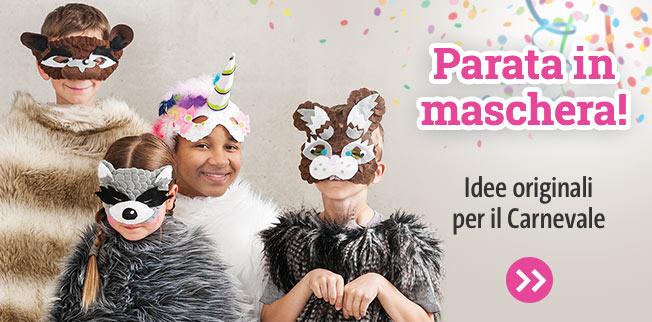 Parata in maschera! Idee originali per il Carnevale
