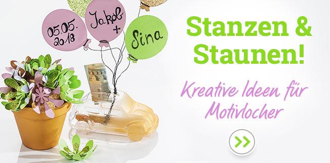 Stanzen & Staunen! Kreative Ideen für Motivlocher