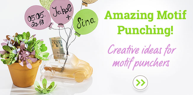 Amazing Motif Punching! Creative ideas for motif punchers