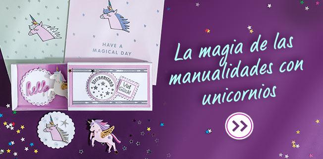 La magia de las mannualidades con unicornios