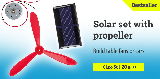 Solar set with propeller - class Set 20 x