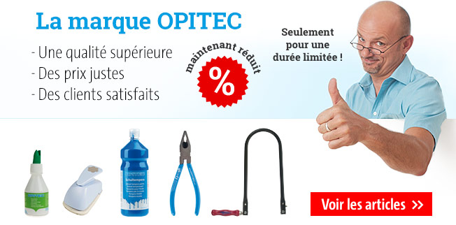 La marque OPITEC - maintenant réduit