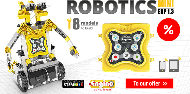 Engino STEM - Robotics Mini ERP 1.3