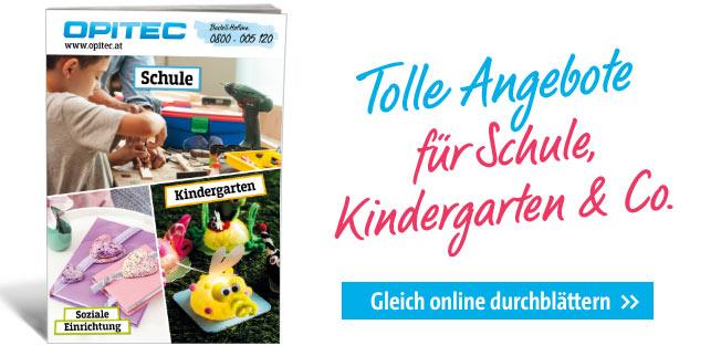 Tolle Angebote für Schule, Kindergarten & Co.