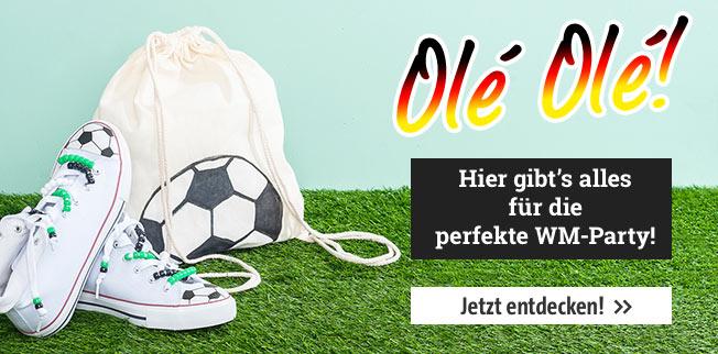 Fussball WM 2018 - Bastelideen