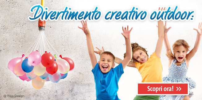 Divertimento creativo outdoor
