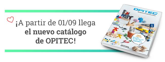 ¡ A partir de 01/09 llega el nuevo catálogo de OPITEC!