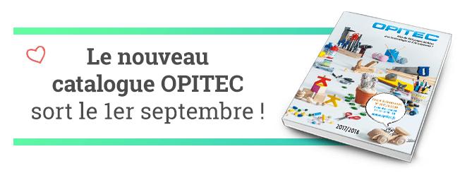 Le nouveau catalogue OPITEC sort le 1er septembre !
