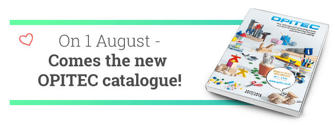 On 1 August - comes the new OPITEC catalogue!