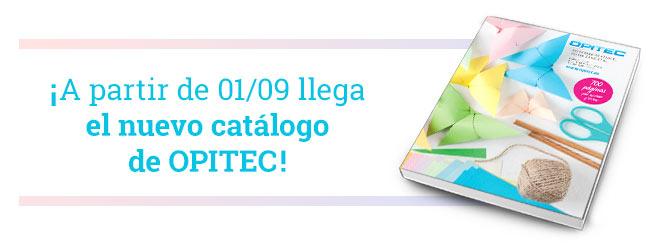 � A partir de 01/09 llega el nuevo cat�logo de OPITEC!