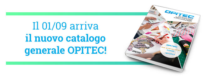 Il 01/09 arriva il nuovo catalogo generale OPITEC!