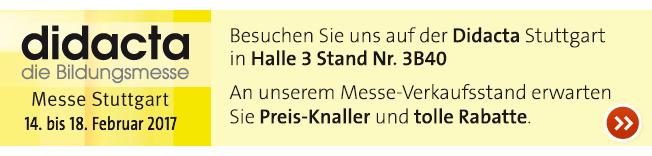 OPITEC auf der didacta in Stuttgart 14. - 18.02.2017