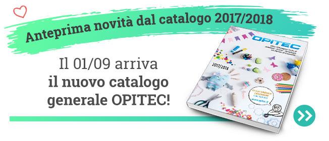 Il 01.09 arriva il nuovo catalogo OPITEC 2017/18!