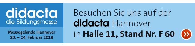 OPITEC auf der didacta in Hannover 20. - 24.02.2018