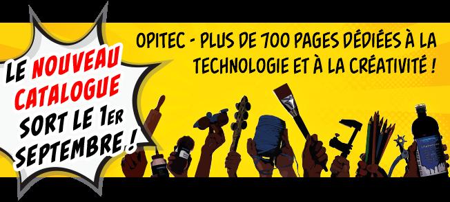Le nouveau catalogue OPITEC sort le 1er août!
