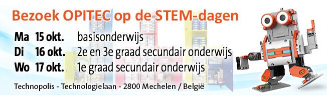 OPITEC op de STEM-dagen