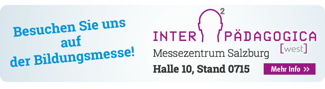 OPITEC auf der Interpädagogica: Besuchen Sie uns auf der INTERPÄDAGOGICA 2017 in Salzburg!