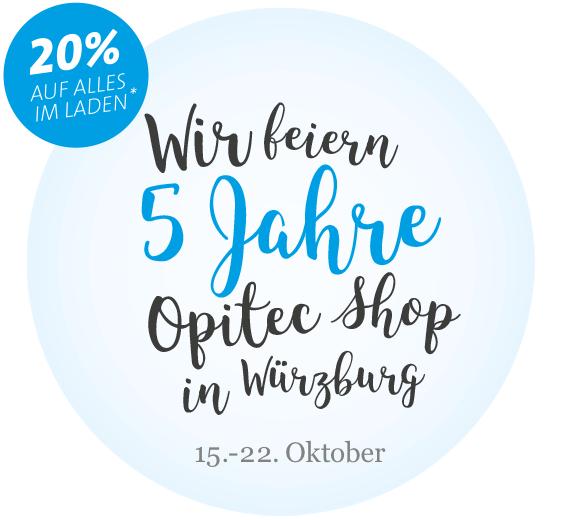 5 Jahre OPITEC-Shop W�rzburg