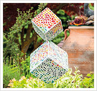 Detaillierte Anleitung Mosaik-Würfel