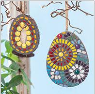 Easter Mosaic Eggs
