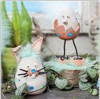 Creativa pulcini di Pasqua