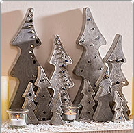Instruction: Christmas Trees Concrete
