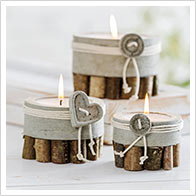 Detaillierte Anleitung zu Beton-Kerzen
