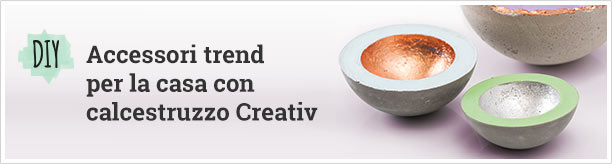 Trendige Wohnaccessoires mit Kreativ-Beton