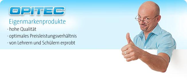 OPITEC Eigenmarkenprodukte
