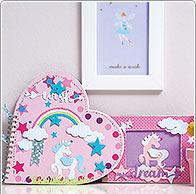 Idea creativa unicorno blocchi notes