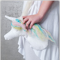 Idea creativa - Bolso con unicornio
