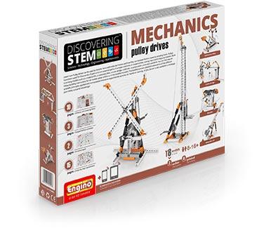 Engino<sup>®</sup>STEM Meccanica: azionamento a cinghia