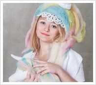 Instrucciones bolsa y casco de unicornio